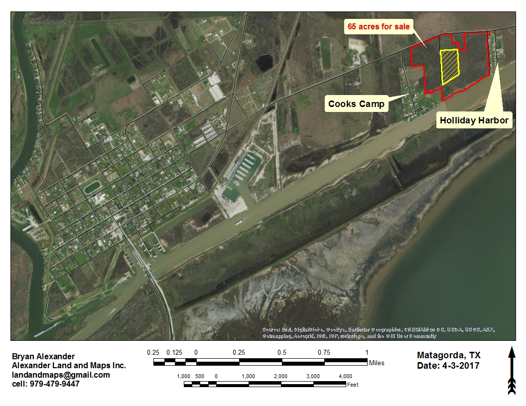 65 +/- Acres Water Front Matagorda, TX