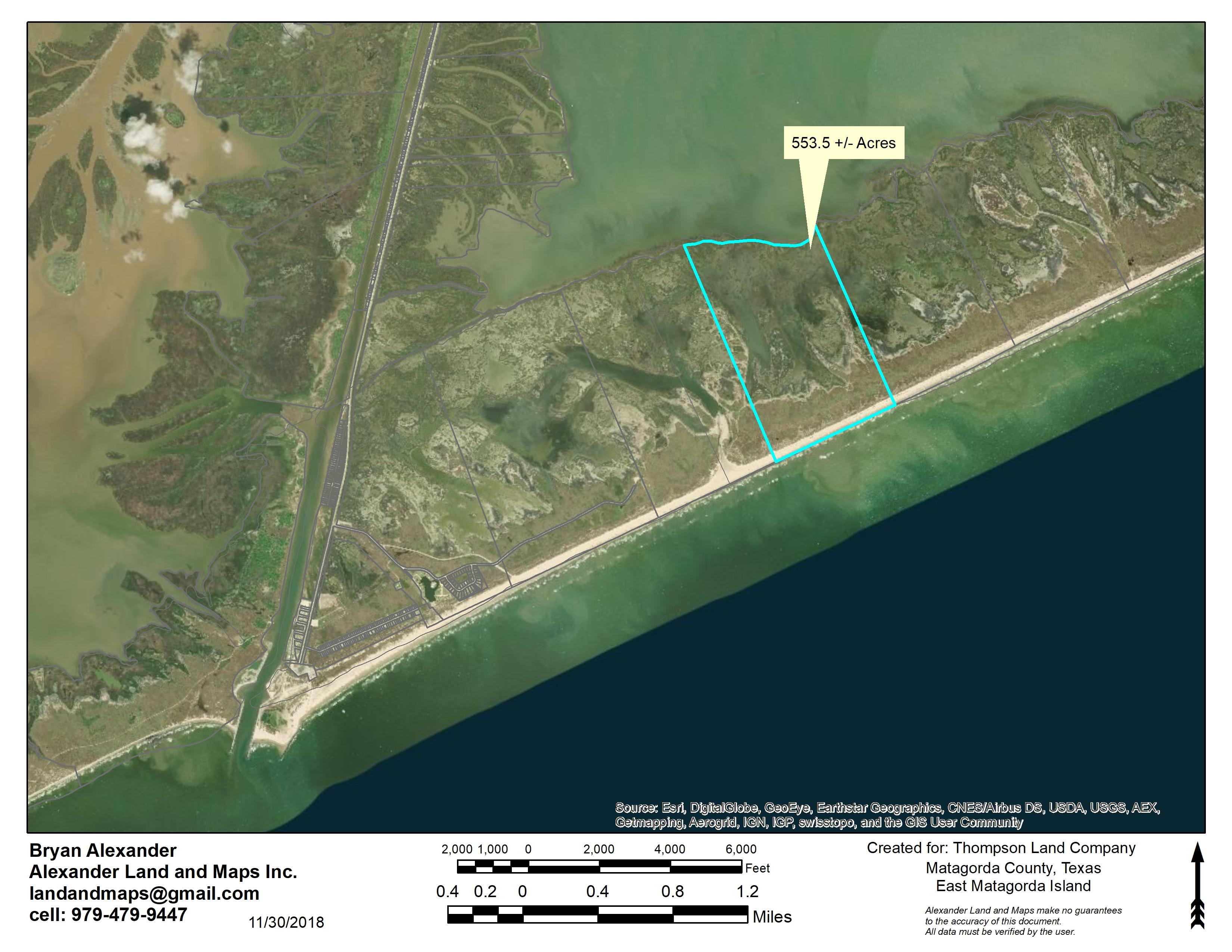 East Matagorda Island 553.5 Acres