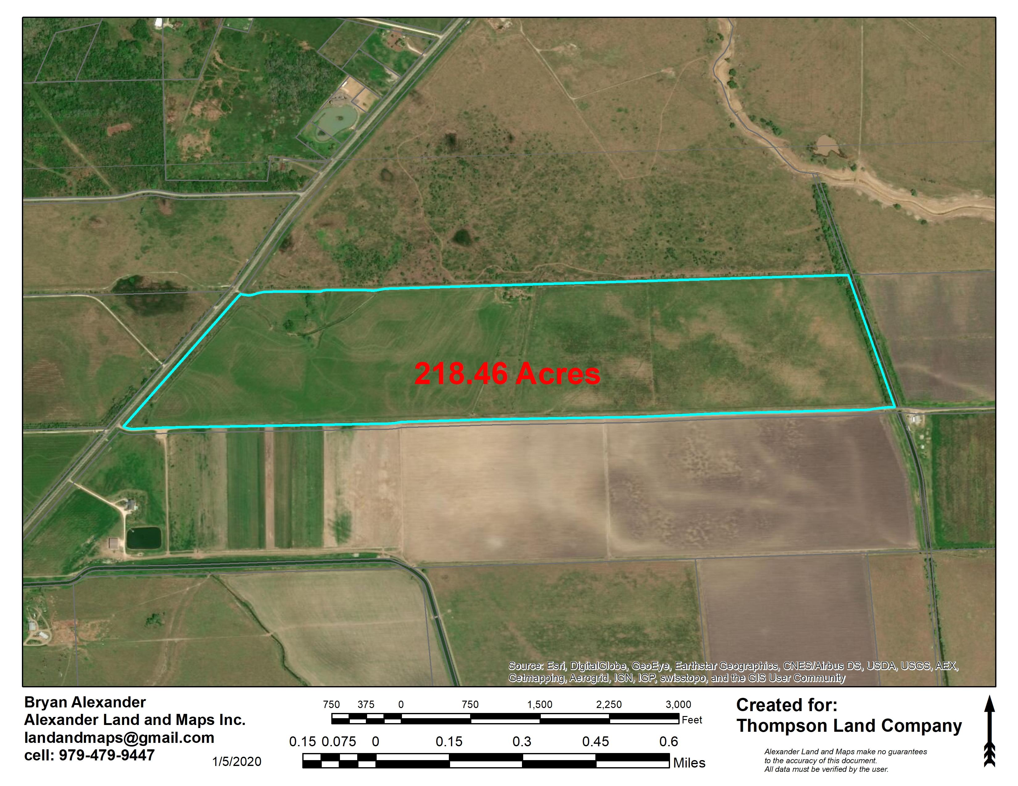 218.46 Acre Rice Farm