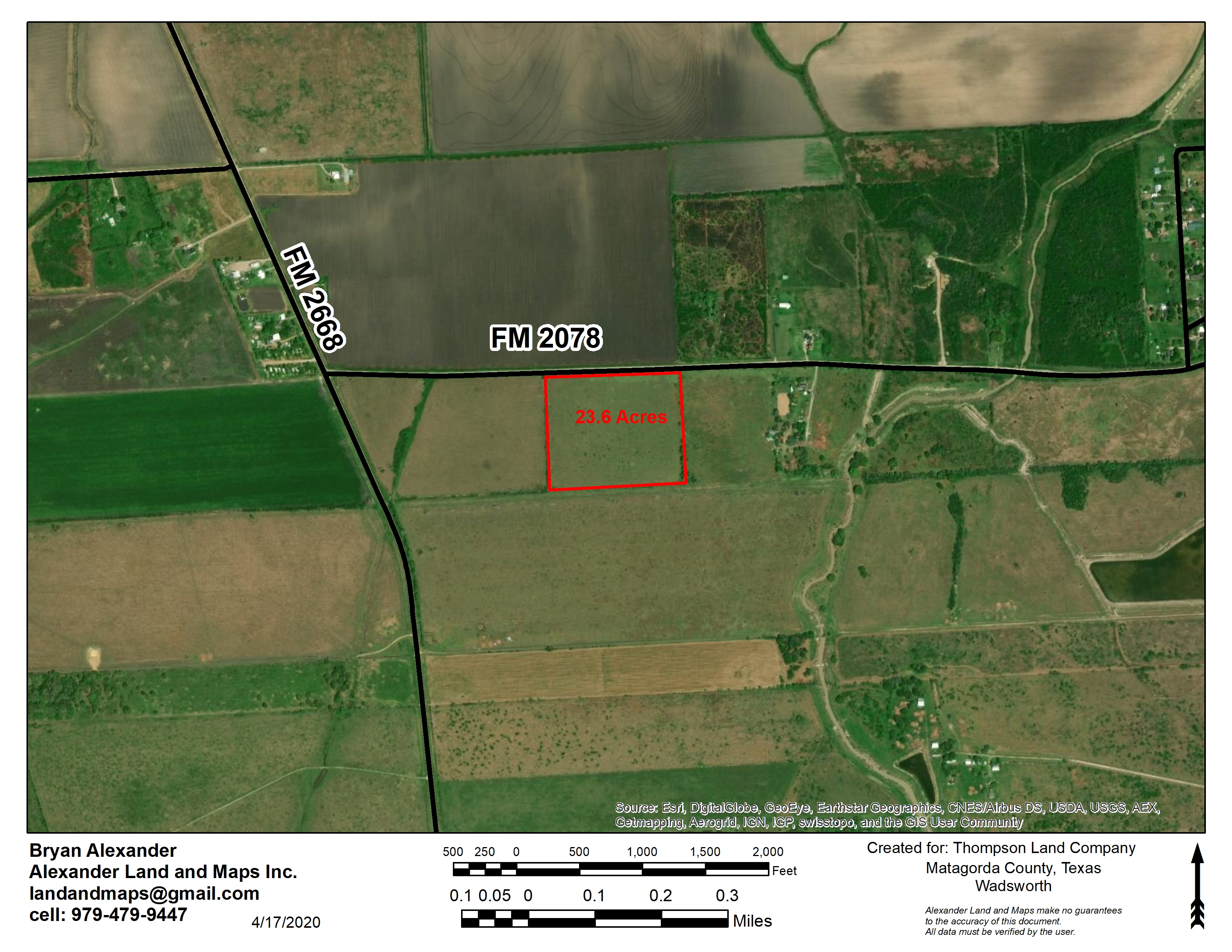 23.6 Acres Just West of Wadsworth, TX